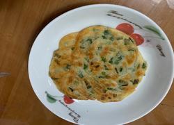 煎葱花饼(饺子皮利用起来)