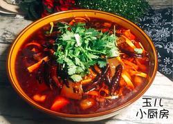 重庆地方特色菜—毛血旺