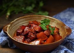 红烧肉炖萝卜