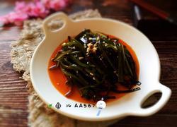 红油蒜末海带丝