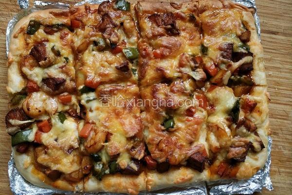 简单好吃披萨