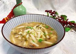 雪菜年糕汤