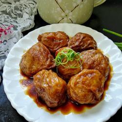 无锡肉酿面筋的做法[图]
