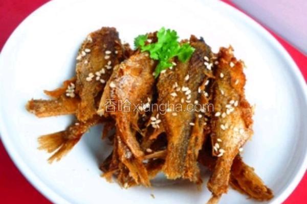 小黄花酥鱼