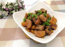 粤式农家菜-红薯焖排骨