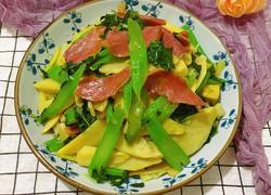 闽南芥菜炒冬笋