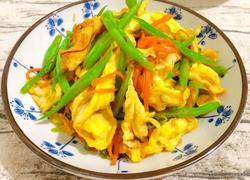 蛋炒四季豆