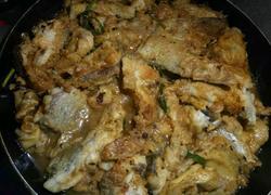 半煎煮豆豉鱼