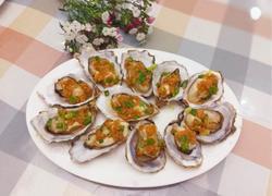 粤式-蒜香蒸生蚝