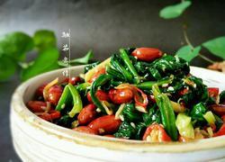 菠菜花生仁