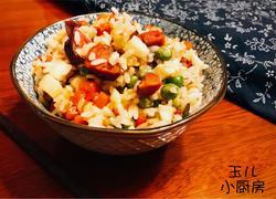 四川—腊肠牛肝菌焖饭