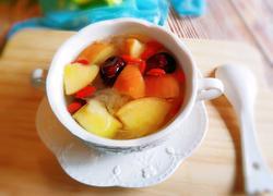红枣苹果银耳汤