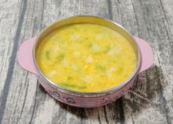 南瓜虾皮疙瘩汤 (宝宝辅食)