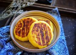 玉米面豆渣饼