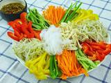 韩式魔芋鸡丝凉拌菜的做法[图]