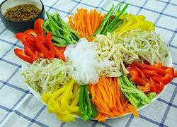 韩式魔芋鸡丝凉拌菜