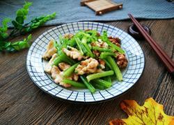 核桃仁拌芹菜