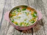 鸡肉米片汤 (宝宝辅食)的做法[图]