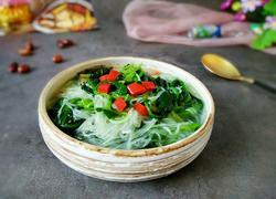 菠菜粉丝汤