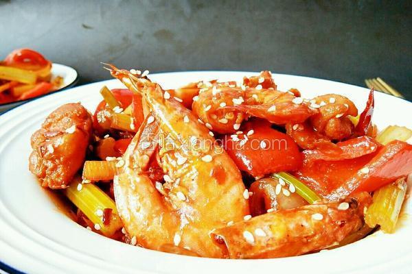 素食干锅虾