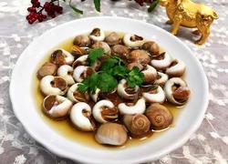 雪菜汁煮玉螺