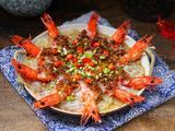 蒜蓉粉丝蒸大虾的做法[图]