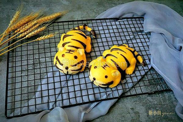 两只老虎馒头