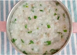 猪肝青菜粥 (宝宝辅食)