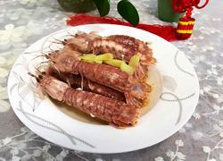 #宁波#盐水虾菇