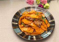 广东-胡萝卜炒肉