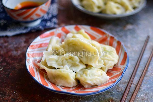 角瓜鸡蛋水饺