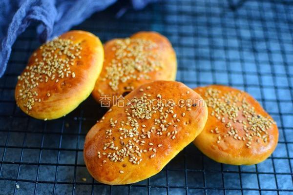 南瓜红糖烤饼