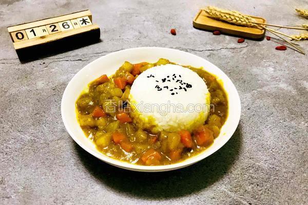 #东北#土豆咖喱饭