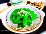 蒜蓉荷兰豆的做法[图]