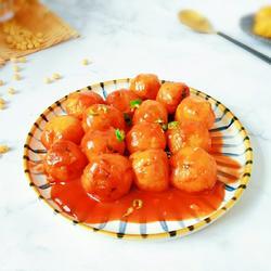 糖醋豆腐丸子的做法[图]