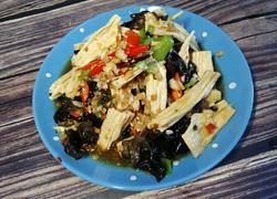 #河北菜#木耳拌腐竹