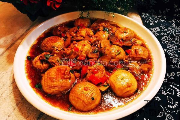 四川-红烧口蘑