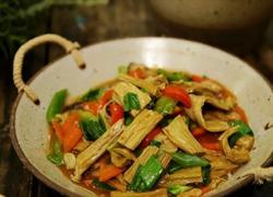 香菇胡萝卜烧腐竹