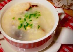 粤式-香菇鲍鱼粥