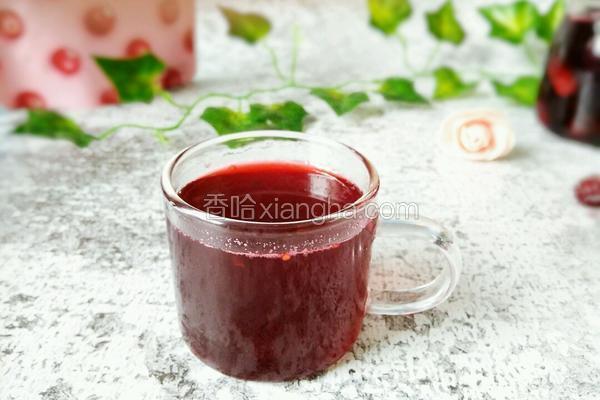 黑桑椹果汁