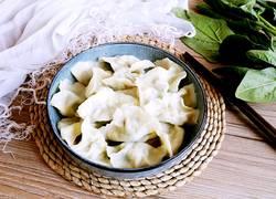 #山东#菠菜鸡蛋饺子