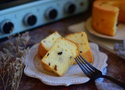 蓝莓戚风蛋糕(新年甜品)