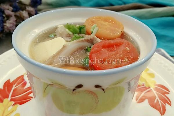 豆腐番茄脆骨汤