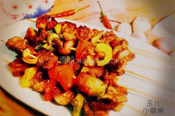 四川-麻辣烤羊肉串