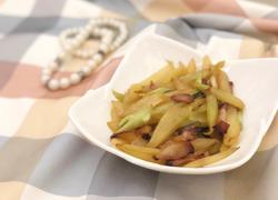 粤式-莴笋炒腊肉