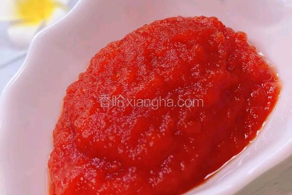 自制简单酸酸甜甜番茄酱