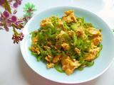 尖椒丝炒鸡蛋的做法[图]