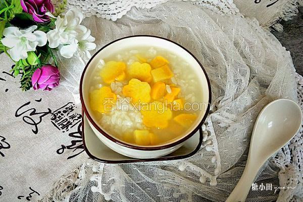 红薯白米粥