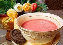 清凉树莓汁