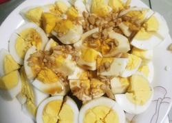 熟鸡蛋浇汁
